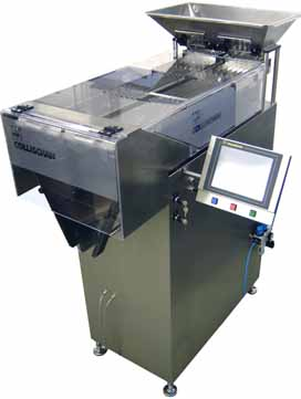 Pharmaceutical Counting machines for tablets capsules dragees, WeighFillers, Checkweighers